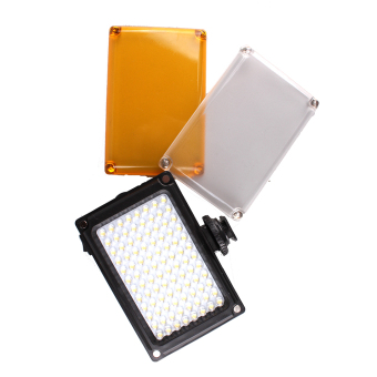 Pixco 96 LED DSLR Video Camera Dimmable Lighting Kit for Canon Nikon with White orange filter - intl Price Philippines