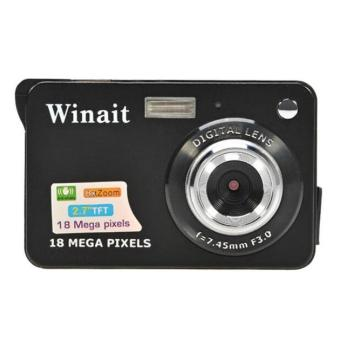 18 Mega Pixels CMOS 2.7 inch TFT LCD Screen HD 720P Digital Camera (Black) Price Philippines