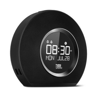 Harga JBL Horizon Bluetooth Clock Radio with USB Charging and Ambient (Light Black)
