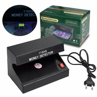 Harga Electronic UV Light Money Detector Bill Currency Authenticity Checker (Black)