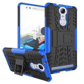 BYT Rugged Dazzle Case for Lenovo K5 Note with Kickstand (Blue) Price Philippines