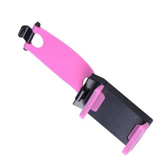 2016 Car Steering Wheel Phone Socket Holder Cellphone Trestle (Pink) Price Philippines