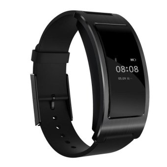 Harga CK11 Smart Watch Blood Pressure Heart Rate Monitor Wristband Intelligent Bracelet(Black) - intl
