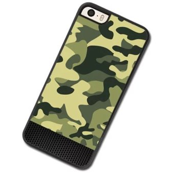 Harga Camouflage color Phone Case For Apple iPhone 5c - intl
