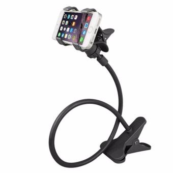 Harga Flexible Lazypod Universal Mobile Phone Holder (Black)
