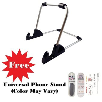 BD-8881 Universal Aluminum Tablet Stand Holder for nextbook Premium 8 SE with Free Universal Phone Grip & Phone Stand Price Philippines