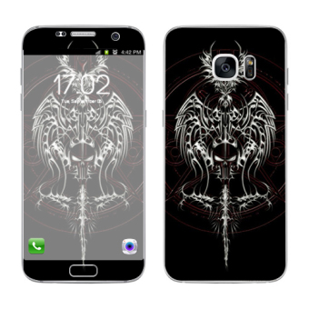 Oddstickers Knight Phone Skin Cover for Samsung Galaxy S7 Edge Price Philippines