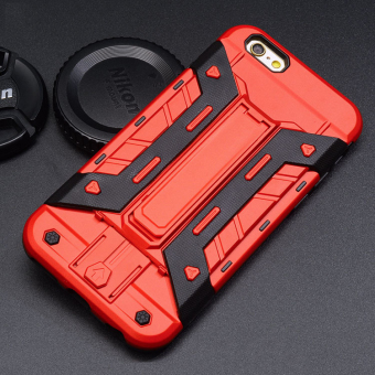 Harga Hard Silicone Phone Case For Apple iPhone 7 plus (Red)