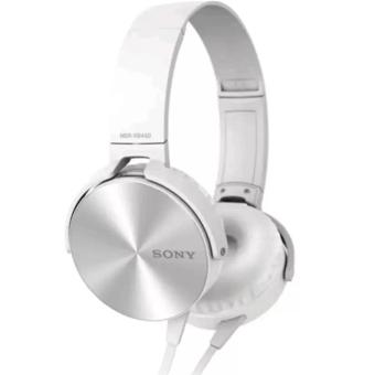 Sony MDR-XB450AP 102dB Extra Bass Smartphone Headset (White) Price Philippines
