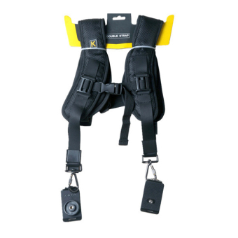 (IMPORT) Black Professional QUICK STRAP Double Shoulder Belt Strap For Tow Video Cameras SLR DSLR Price Philippines