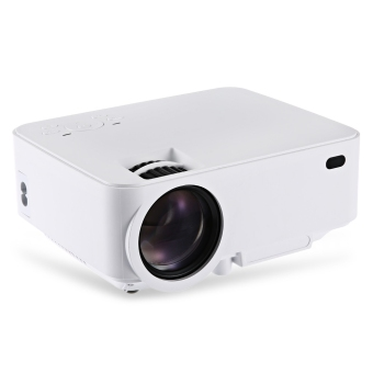 RUISHIDA M1 Portable 1500 Lumens 800 x 480 Pixels Projector with VGA HDMI USB SD Card Slot for Home Office Education Price Philippines