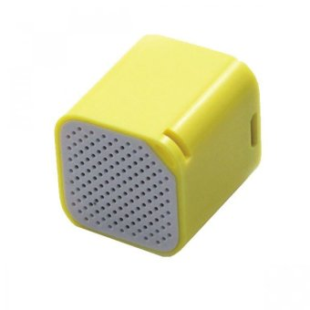 3 in 1 Smart Micro Bluetooth Speaker With Shutter and Anti lost Function (Yellow) Price Philippines