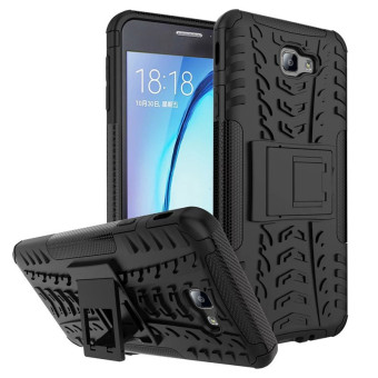 BYT Rugged Dazzle Case for Samsung Galaxy On7(2016) / J7 Prime with Kickstand (Black) Price Philippines