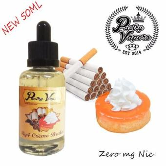 Pastry Vapors 50ML (Ry4 Creme Brulee) 3mg Nicotine E-Juice for Electronic Cigarette Price Philippines