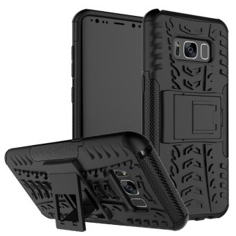 BYT Rugged Armor Dazzle Back Cover Case for Samsung Galaxy S8 - intl Price Philippines