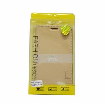 Harga Gmate Rich Boss Leather Case For Samsung S6 Edge Plus/Note 5 Edge (GOLD)