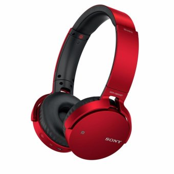 Sony MDR-XB650BT Extar Bass Bluetooth Headphone (Red) Price Philippines