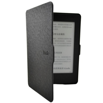 Harga Smart Ultra Slim Magnetic Case Cover For Kindle Paperwhite+Screen film Black - intl