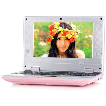 New 7 inch Android 4.0 VIA 8850 Notebook 512M 4GB HDMI WiFi Camera Netbook Laptop Pink - intl Price Philippines