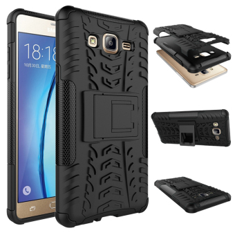 BYT Rugged Dazzle Case for Samsung Galaxy On 7 2016 with Kickstand (Black) Price Philippines