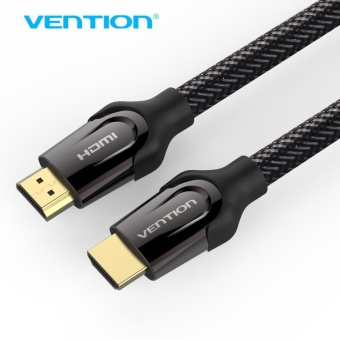 Harga Vention HDMI Cable HDMI to HDMI cable HDMI 2.0 4k 3D 60FPS Cable for HD TV LCD Laptop PS3 Projector Computer Cable 10M