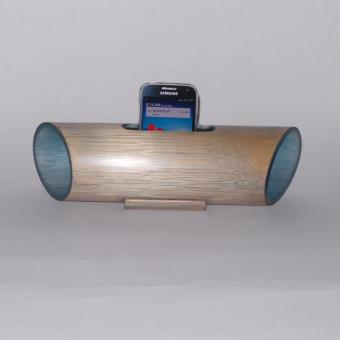 Speaker Natural Look Bamboo (Light Blue) Price Philippines