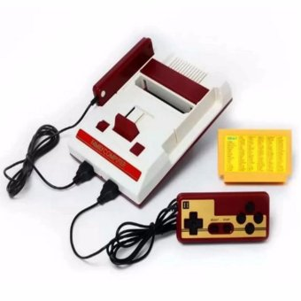 Harga Pinoy Puff Family Computer FC Compact Vintage Game Console Built in 500 Games with Free 132in1 Game Cartridge