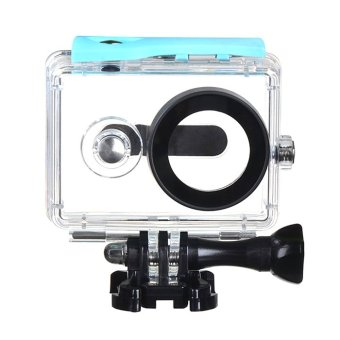 (IMPORT) EACHSHOT? 40m Underwater Waterproof Protective HousingCase For Xiaomi Yi Action Camera (Blue)