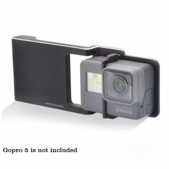 (IMPORT) EACHSHOT Plate Used with Zhiyun Smooth C / C+ / SMOOTH-IIHandheld Stabilizer Gimbal to Connects Gopro Hero 5 / 4 / 3 / 3+Camera (Plate Only) - intl