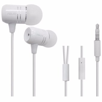 In-ear Original binding with Mic with Volume headset for Asusphone(white)