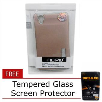 Incipio DualPro TPU Hard Case for Cherry Mobile Flare 5 with Free Tempered Glass