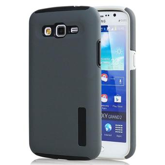 Incipio TPU Back Case Cover , hardshell case with impact absorbingcore for Samsung Galaxy GRAND 2 G7106 (grey)