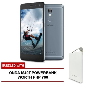 Infinix S2 Pro 32GB (Topaz Blue) bundled with FREE Onda M40T Powerbank worth Php 700 Price Philippines
