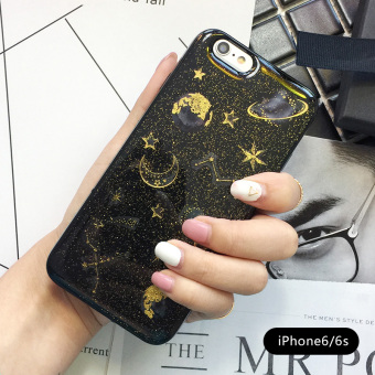INS iphone6/7plus glitter all-inclusive soft silicone case phone case