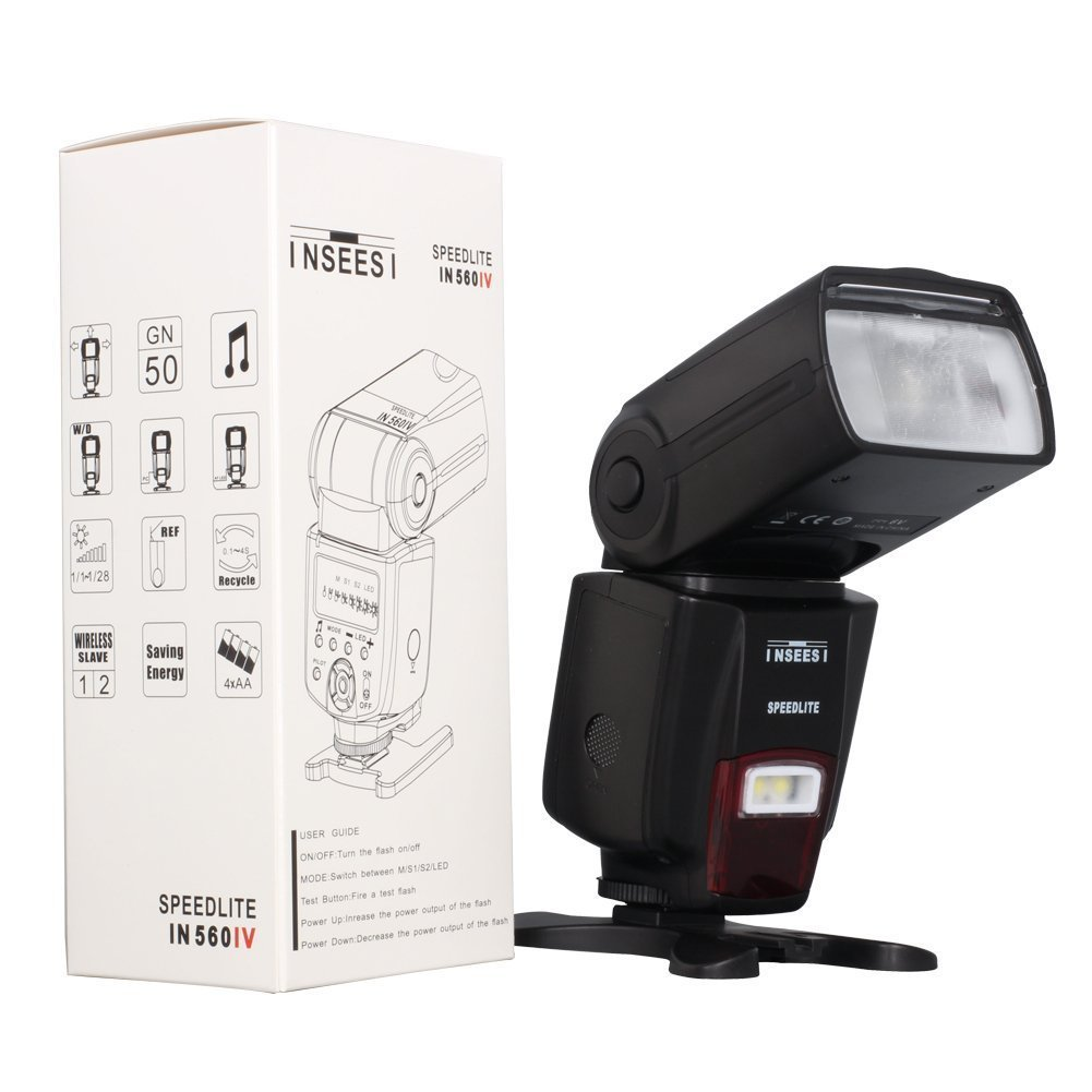 Philippines | INSEESI IN560IV Wireless Universal Flash Speedlite
