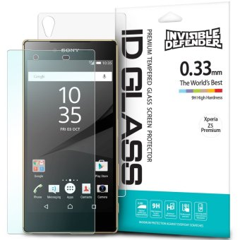 Invisible Defender Tempered Glass [0.33mm] The Ultimate ClearShield Screen Protector for Sony Xperia Z5 Premium