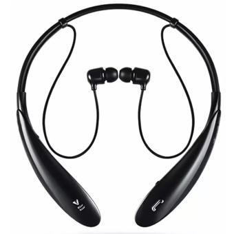 IOS HBS-800 Bluetooth V4.0 Sports Neckband Headset (Black) Price Philippines