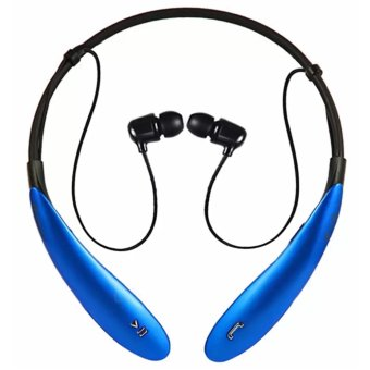 IOS HBS-800 Bluetooth V4.0 Sports Neckband Headset (Blue) Price Philippines