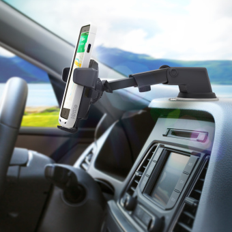 iOTTIE Easy One Touch 3 Car and Desk Mount Holder (Black) - 5