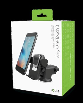 iOTTIE Easy One Touch 3 Car and Desk Mount Holder (Black) - 4