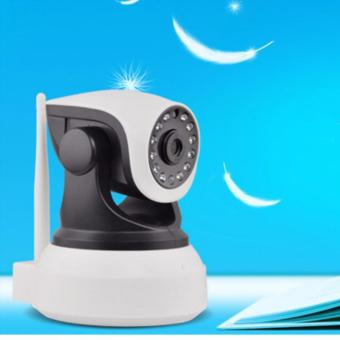 IP Camera Wireless HD Night Vision Office Home warehouse Network Camera CCTV(Black/White)C7824WIP