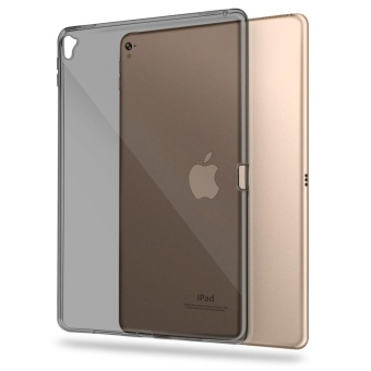 iPad Pro 9.7 Case ,Transparent Slim Silicon Soft TPU TabletComputer Case [Shock Absorption] For Apple iPad Pro 9.7 inch (2016)- intl