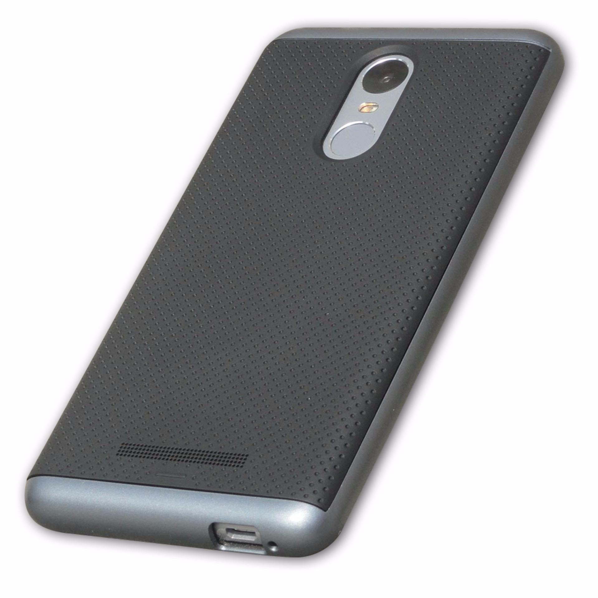 Philippines Ipaky Hard Tpu Pc Design Case For Xiaomi Redmi Note 3 4 Grey