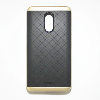 iPaky Slim TPU+PC Shockproof Case for Xiaomi Red Mi Pro (Gold)