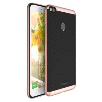 iPaky Slim TPU+PC Shockproof Hybrid Case for Xiaomi Mi Max 2 (rosegold)
