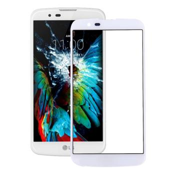 IPartsBuy For LG K10 Front Screen Outer Glass Lens(White) - intl