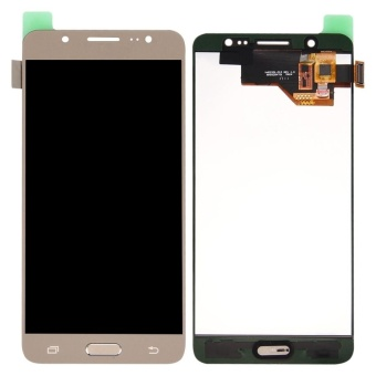 IPartsBuy For Samsung Galaxy J5 (2016) / J510 LCD Screen + TouchScreen Digitizer Assembly(Gold) - intl