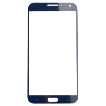 iPartsBuy Front Screen Outer Glass Lens for Samsung Galaxy E5(DarkBlue)