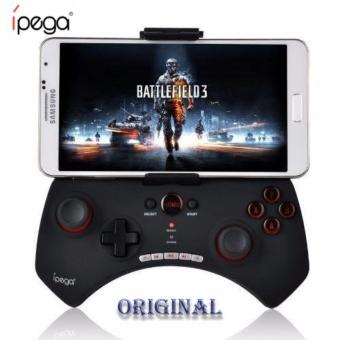 iPega PG-9025 Tomahawk PG 9025 Bluetooth Wireless Joystick Gamepad Gaming Controller Remote Control for Mobile Phone Tablet PC iOS Android TV Box (Black)