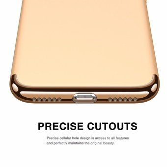 iPhone 7 Case,GiMi Stylish Slim Hard Case with 3 Detachable Parts for Apple iPhone 7, CHROME GOLD and MATTE BLACK, [CLIP-ON] - intl - 5